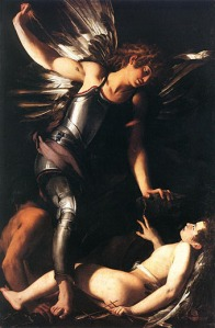 Heavenly Love and Earthly Love by Giovanni Baglione 1602-1603